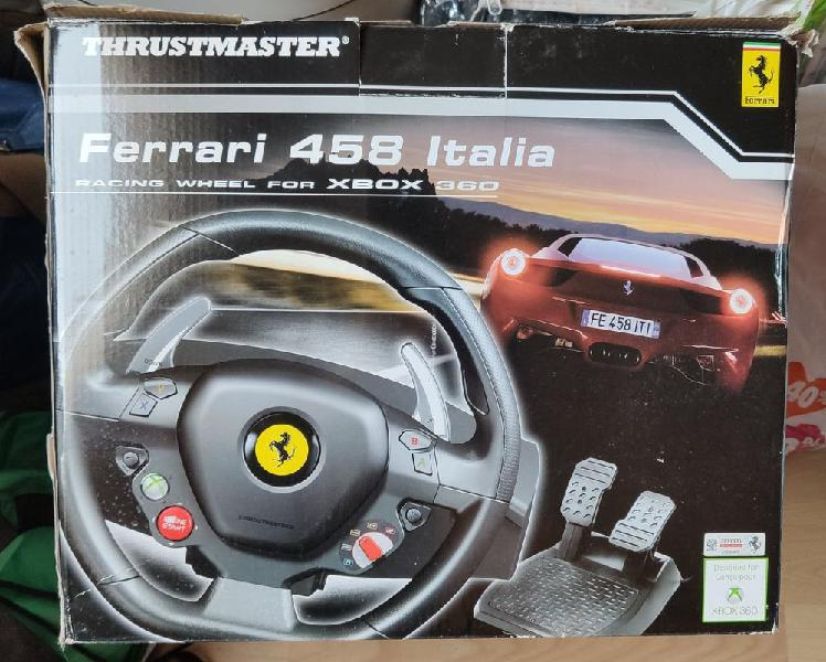 Volant ferrari 458 spider racing wheel neuf, la
