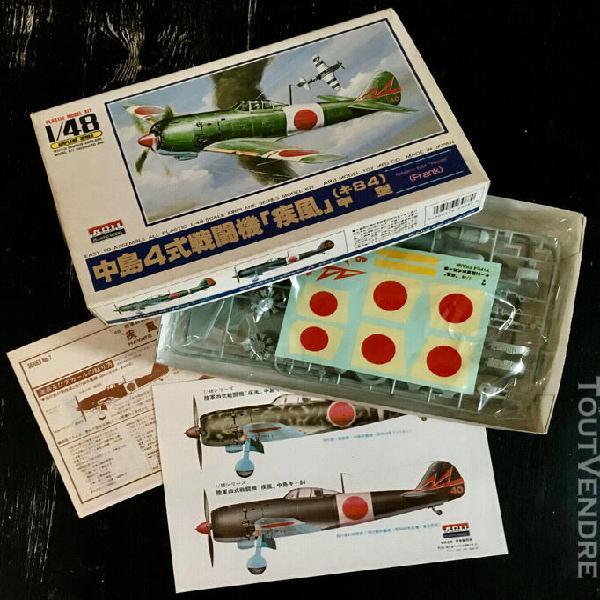 "Arii/otaki 1/48 - nakajima ki-84 hayate ""frank"" - japan 1986"