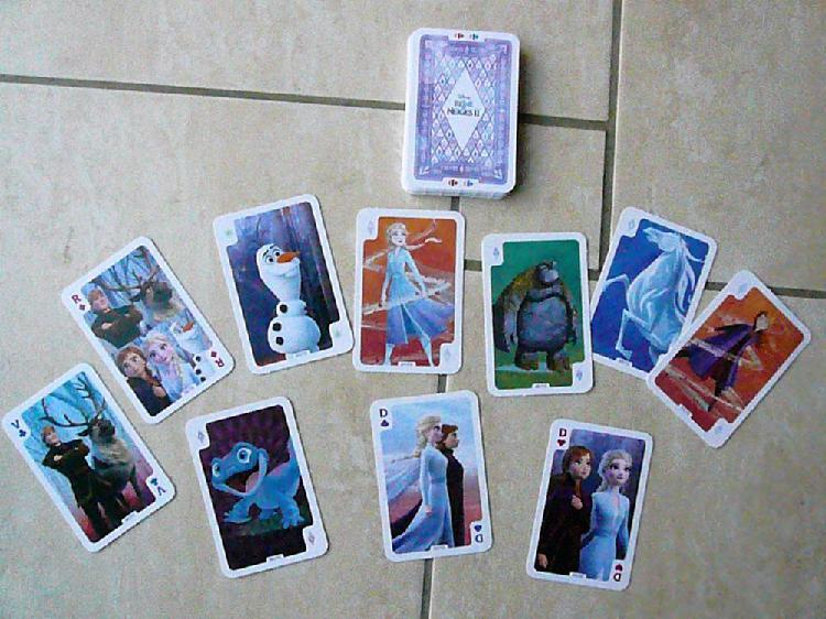 Cartes disney la reine des neiges 2 occasion,