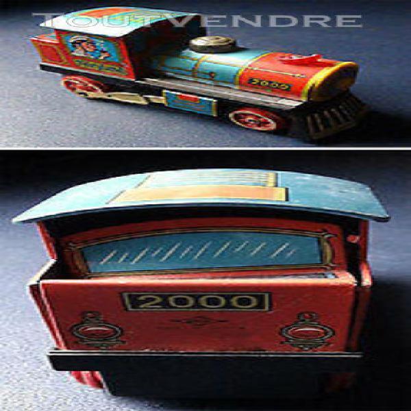 Daiya japan - jouet en tôle peinte - locomotive fairyland