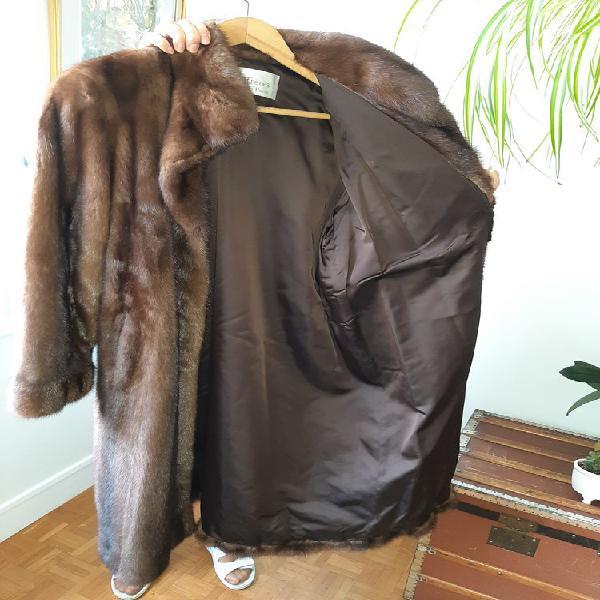 Très beau manteau de vison marron neuf, bougival (78380)