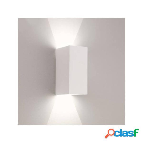 """""""applique murale double parma 160 led - blanc"""""""