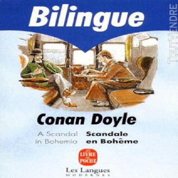 A scandal in bohemia: scandale en boheme, bilingue anglais/