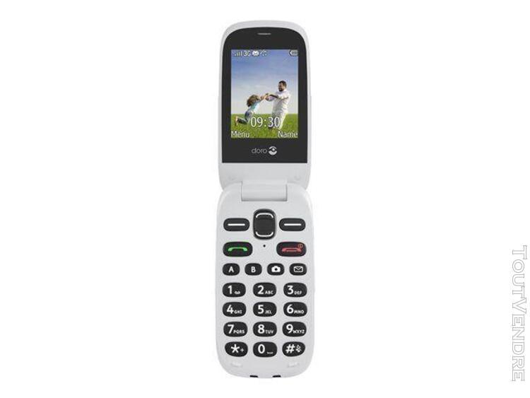 Doro phoneeasy 631 blanc