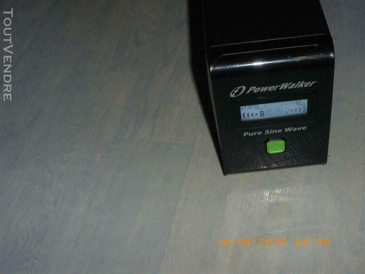 Onduleur pure sinus line interactive powerwalker 800 va. 480