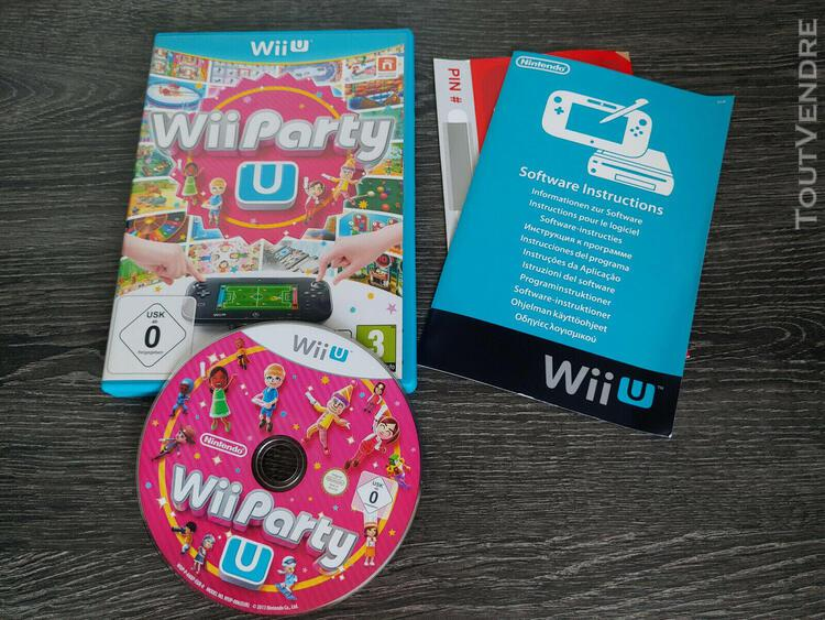 Wii party u wii u original vf