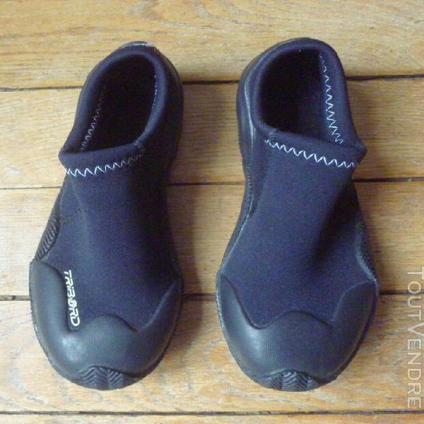 Chaussures sports aquatiques tribord pointure35/36