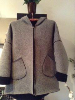 Manteau femme gris (taille unique) occasion, vincennes