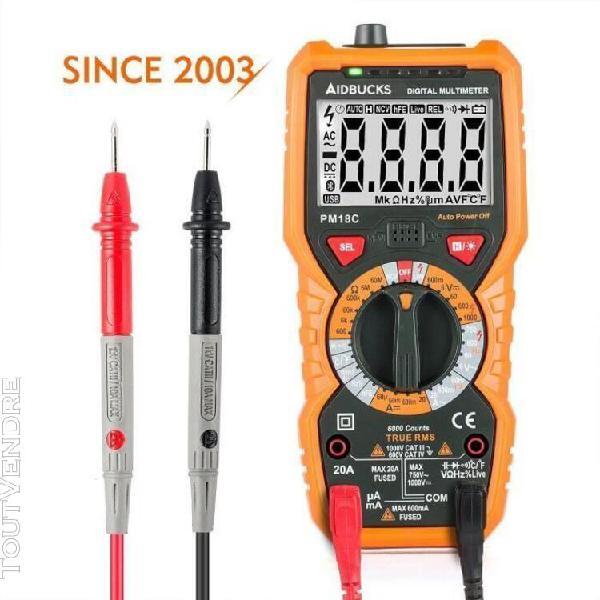 Multimètre numérique janisa pm18c ac dc testeur electrique