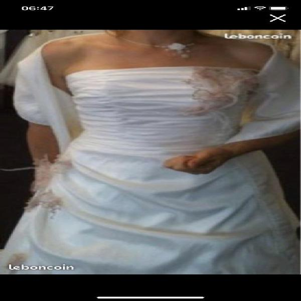 Robe de mariée et accessoires neuf, roissy-en-brie (77680)
