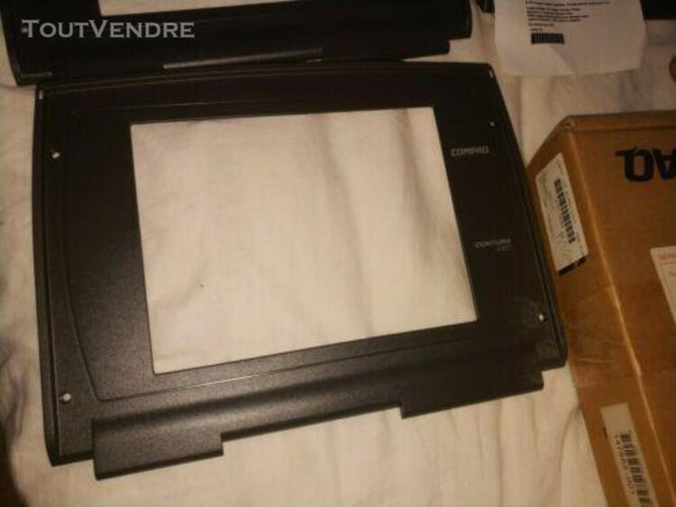 Capot ecran neuf compaq contura 420 c / 400c / 410c + nappes