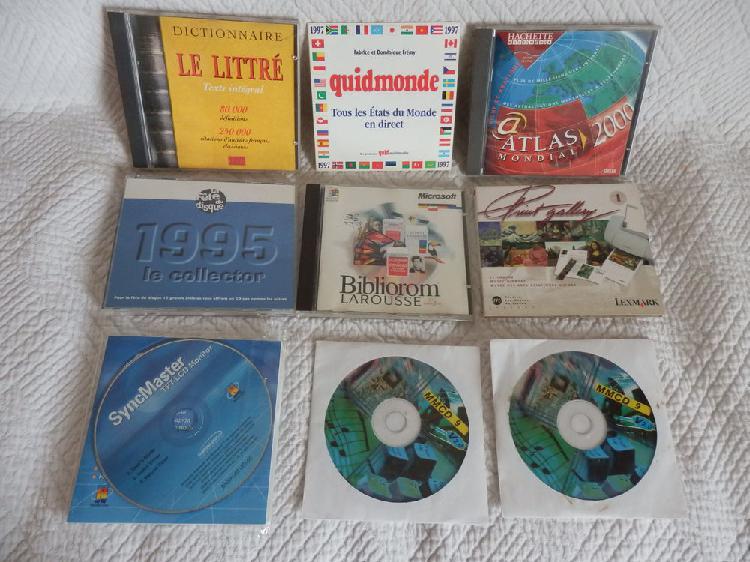 Cd - informatique-jeux-documents-disques collector var. etc.