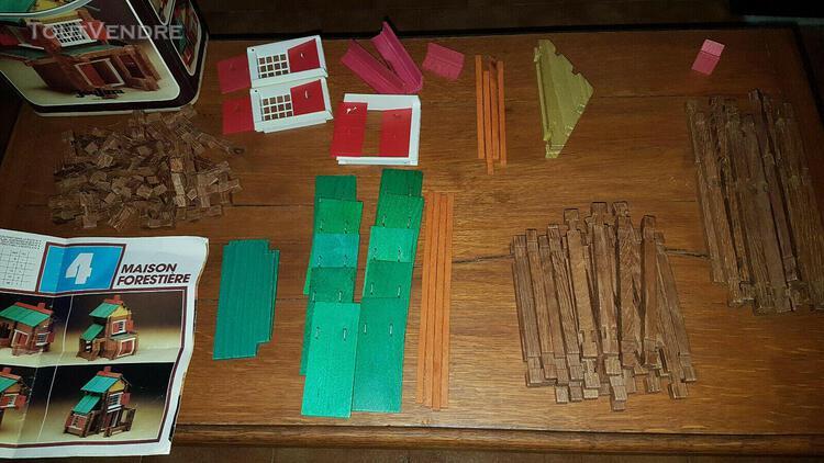 Jeujura maison forestière n°4 jouet ancien vintage bon