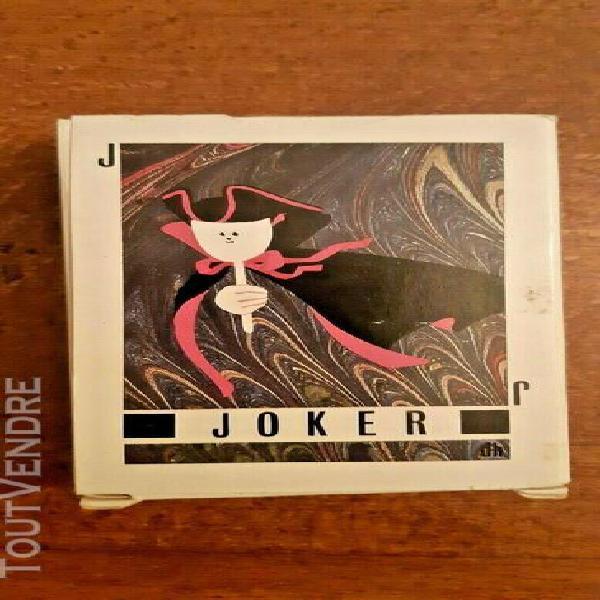 """Poker cartes du carnaval de bale"""" deck """"basler fasnachtskart"""