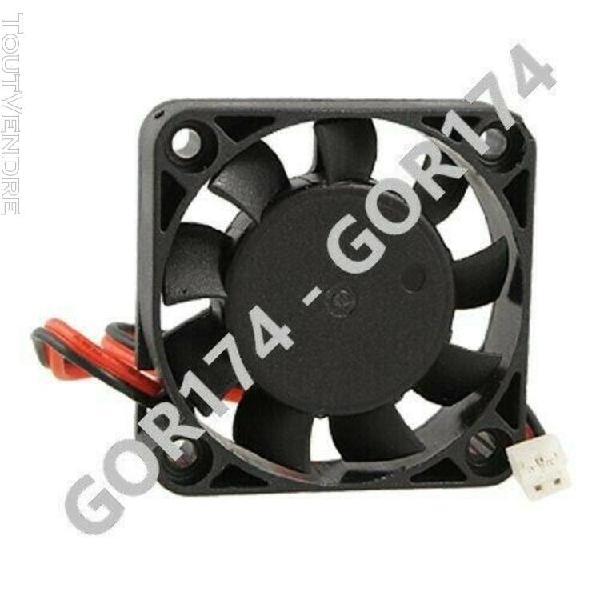 Ventilateur fan 30x30x10mm 12v cable 1m 100cm imprimante 3d