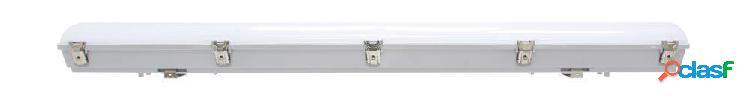 Noxion réglette led étanche pro 120cm 4000k 4000lm | câblage traversant - module d'urgence 1h - substitut 2x36w