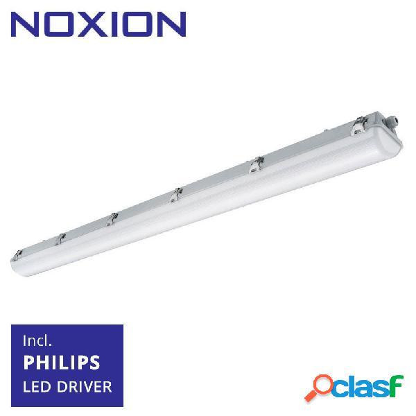 Noxion réglette led étanche pro 150cm 4000k 3400lm | câblage traversant - module d'urgence 1h - substitut 1x58w
