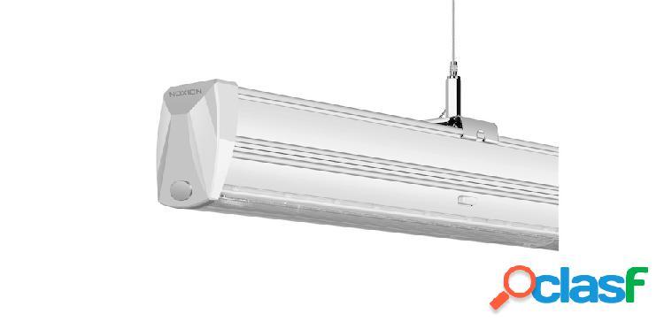 Noxion led linear nx-line module 8/1500 70w 840 double asymétrique angle de diffusion | blanc froid - module d'urgence