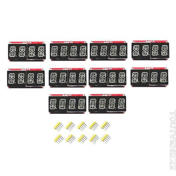 10pcs led module d'affichage tube numérique pour arduino