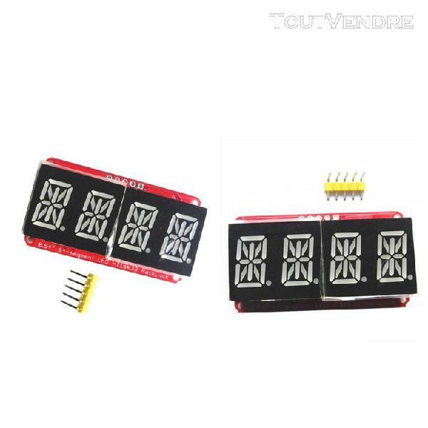 2x module d'affichage à led de tube 0.54inch viridis 4bits