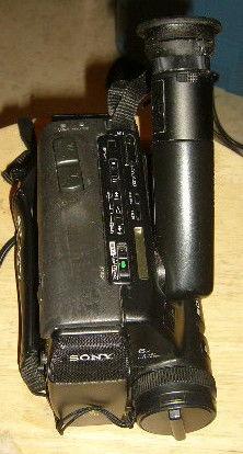 Camescope 8mm sony ccd tr55e a reparer à rénover,