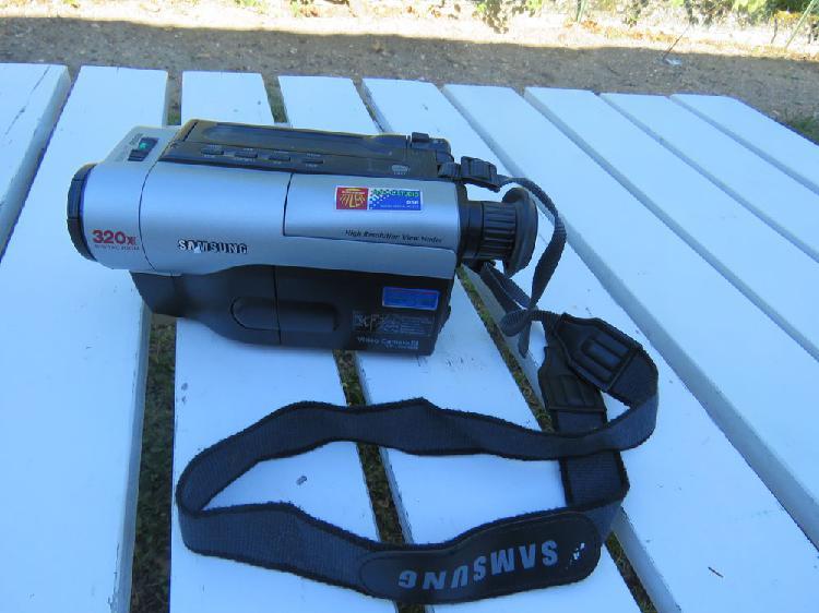 Camescope magnétophone samsung vp -l300 - 8mm, écran lcd