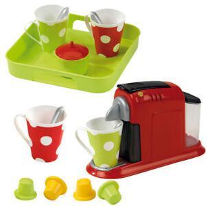 Machine à expresso enfant avec plateau et tasses à café