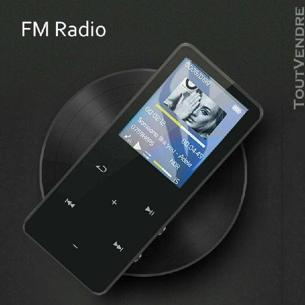 Mp4 player slim light 30g bluetooth 4gb 128gb idee cadeau