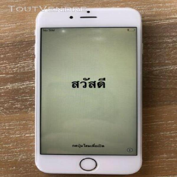 Apple iphone 6 - 64 go - argent (désimlocké)