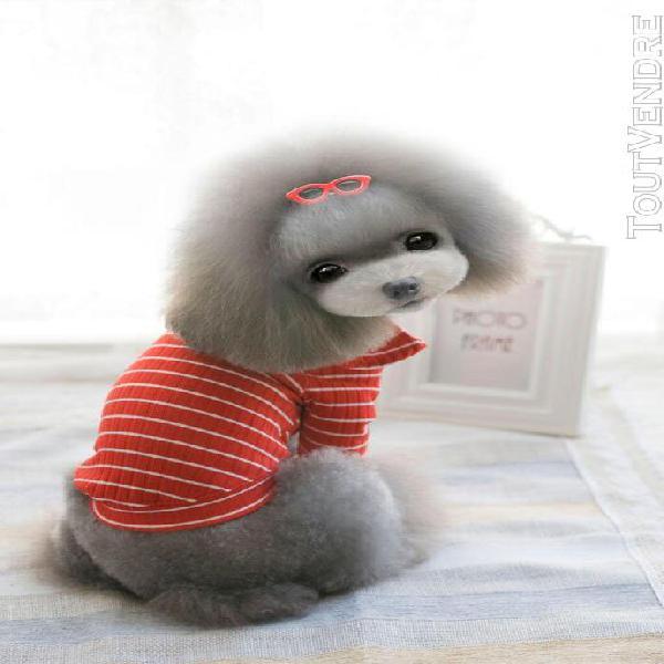 Chemise à manches longues pour animaux chiens chemise de