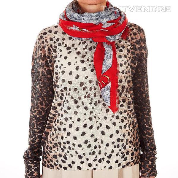 Guess femme aw8473vis03denimmulti rouge écharpe