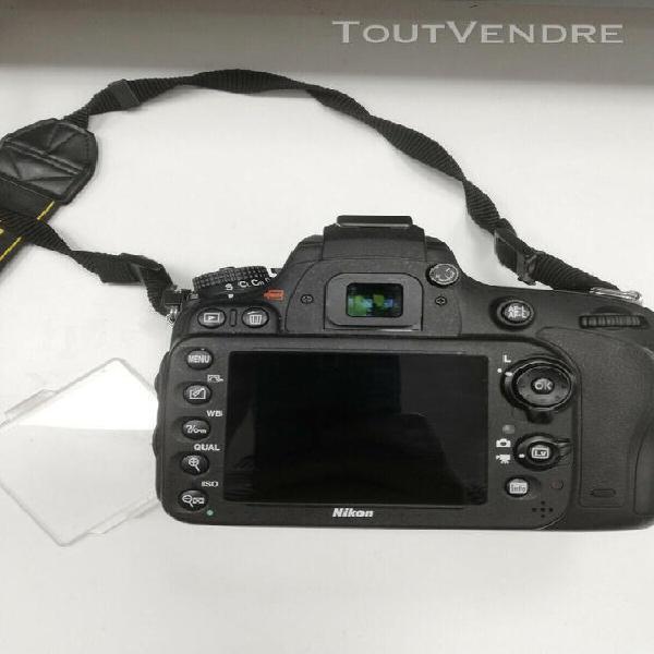 Nikon d600 (11105 déclenchements) + accessoires