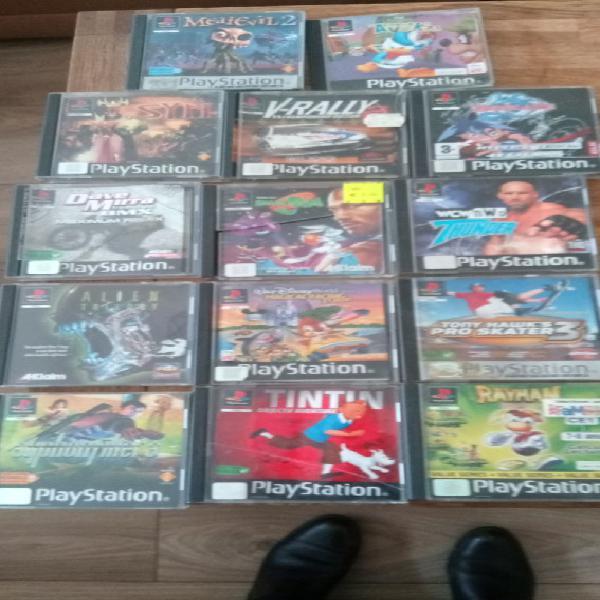 Ps one + 14 jeux unique/collector, breconchaux (25640)