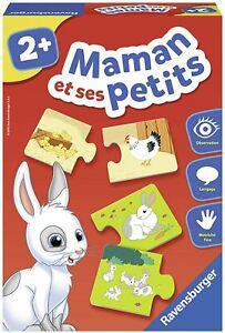 Ravensburger jeu educatif maman et ses petits découverte
