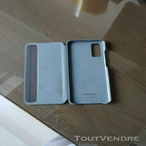 Samsung coque housse protection clear view cover galaxy s20