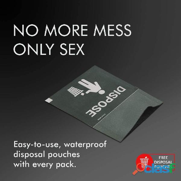 NottyBoy Nirvana Préservatif Pack: Préservatif super pointillé, extra lubrifié et multi texturé 1