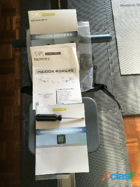 Rameur concept2 modèle D écran PM5 1