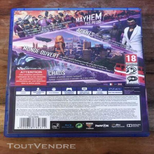 Agents of mayhem jeu ps4