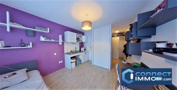 Appartement à vendre roubaix 2 pièces 19 m2 nord