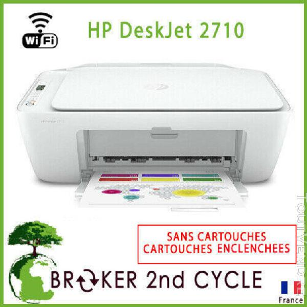 Hp deskjet 2710 imprimante multifonction sans fil bluetooth