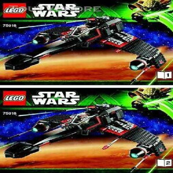 Lego notices originales star wars - jek-14's stealth starfig