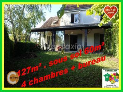 Maison à vendre bourges 6 pièces 127 m2 cher