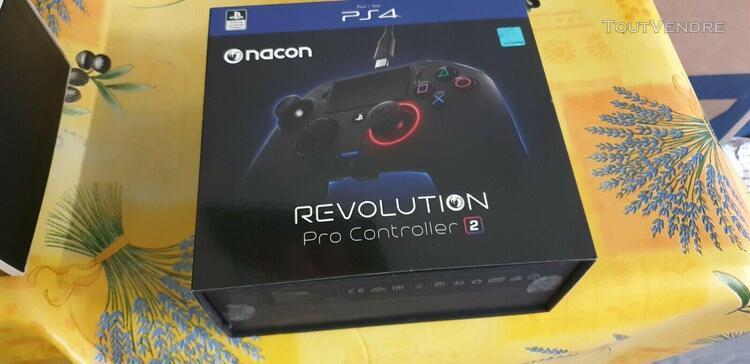Manettes de jeux ps4 nacon revolution pro controller 2