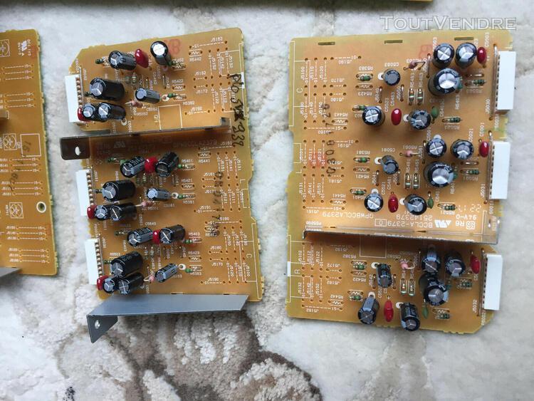 Pioneer pièces d'ampli carte jack, alimentation, hdmi, rca,
