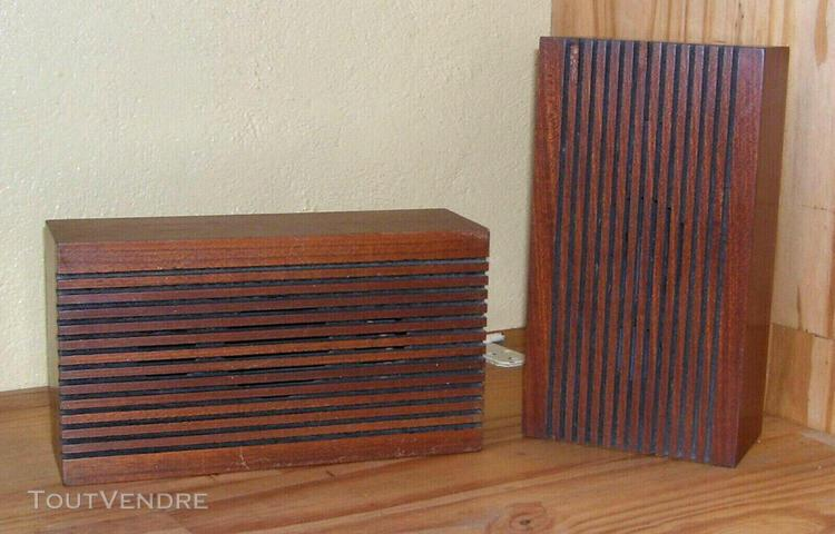 Un paire de satellites audax - hifi stéréo vintage *