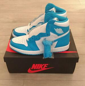 Nike air jordan 1 high og unc north carolina 2015 10us 44eu