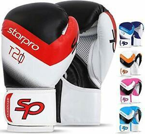 Starpro gants de boxe entrainement - 8oz 10oz 12oz 14oz 16oz