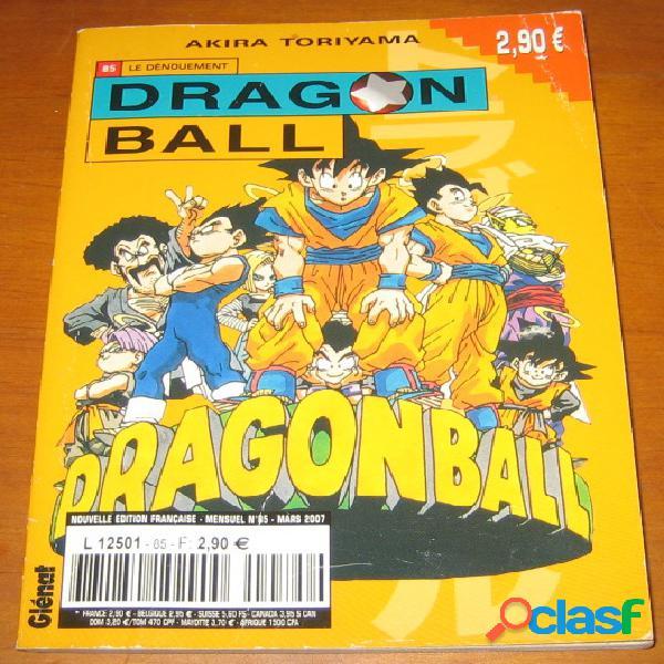 Dragon ball 85 - le dénouement, akira toriyama