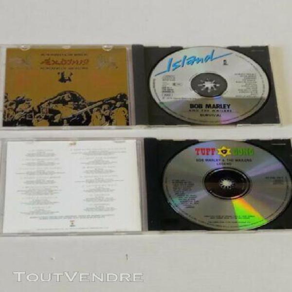 2 cd bob marley (exodus) + legend (best of)