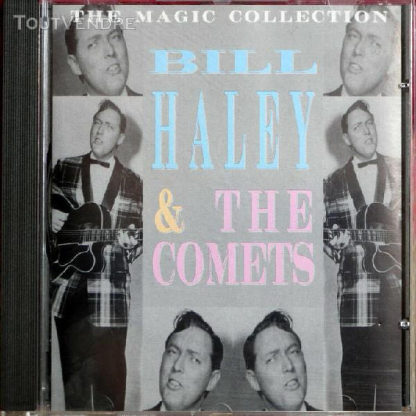Cd bill haley & the comets the magic collection
